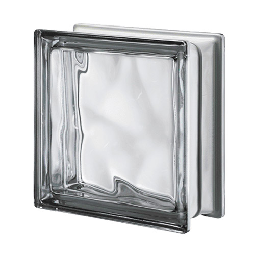 Luksfery szare metalizowane Q19 Nordica O MET pustaki szklane-chmurki