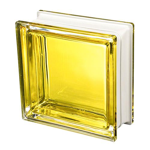 Pustaki szklane Q 19 Mendini Citrino 1919/8 Luksfery żółte wewnętrzne