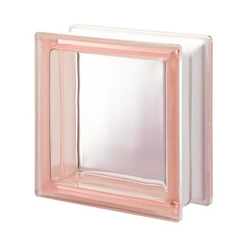 Pustaki szklane Q 19 Rosa T 1919/8 Luksfery różowe