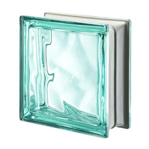 Luksfery metalizowane Q19 Turchese O MET pustaki szklane-chmurki