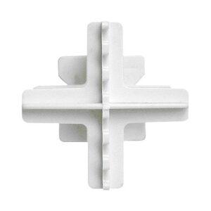 Krzyżyki dystansowe do montażu pustaków szklanych 2mm (10szt)