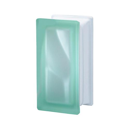 Pustaki szklane R09 Verde O Sat 1909/8 Luksfery zielone satynowane