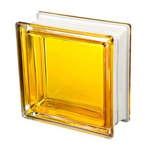 Pustaki szklane Q19 Mendini Topazio 1919/8 Luksfery żółte wewnętrzne