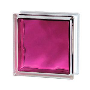 Pustak szklany Brilly Ruby 1919/8 luksfer chmurka różowy