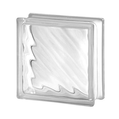 Pustak szklany Digona Seves 1919/8 luksfer bezbarwny fala