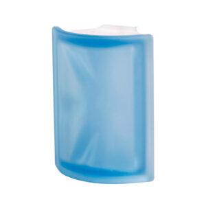 Pustaki szklane Angolare Blue O Sat Luksfery niebieskie łukowe