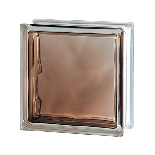 Pustak szklany Wave Brilly Bronze 1919/8 luksfer chmurka brązowy