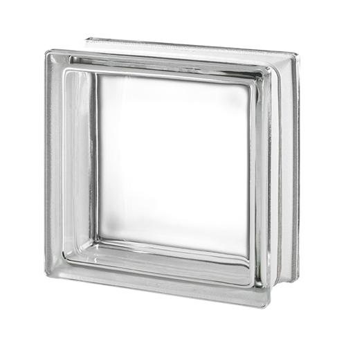 Pustak szklany CLEAR VIEW E60 przeźroczysty luksfer 19x19x8cm
