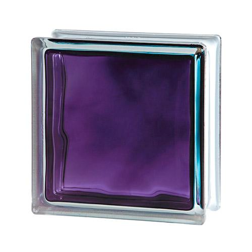 Pustak szklany Wave Brilly Violet 1919/8 luksfer chmurka fioletowy