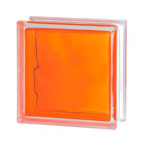 Pustak szklany Wave Brilly Orange 1919/8 luksfer chmurka pomarańczowy