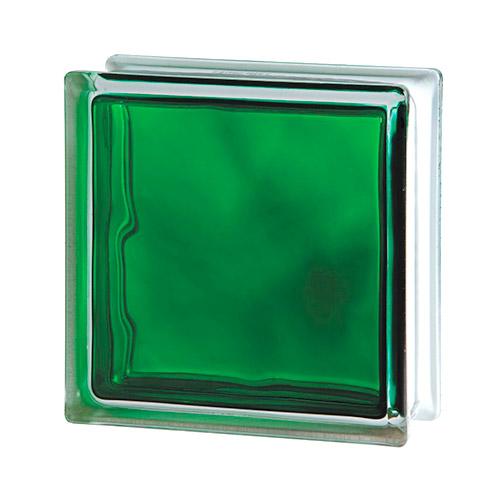 Pustak szklany Wave Brilly Emerald 1919/8 luksfer chmurka zielony