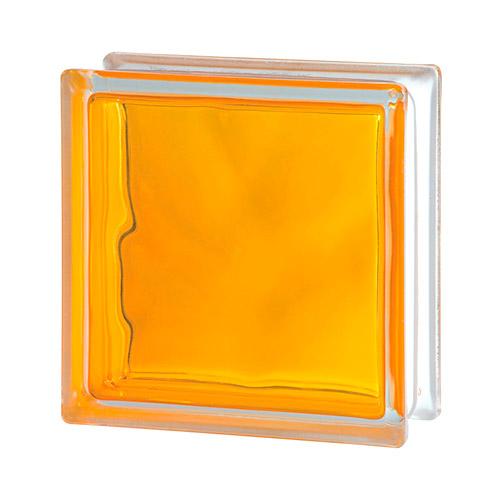 Pustak szklany Wave Brilly Yellow 1919/8 luksfer chmurka żółty