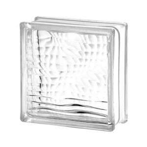 Pustak szklany Optical Seves E60 1919/8 luksfer bezbarwny/linie