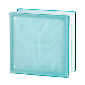 Pustaki szklane 198 Turquoise Flemish Sat1 E60 EI15 luksfery 19x19x8