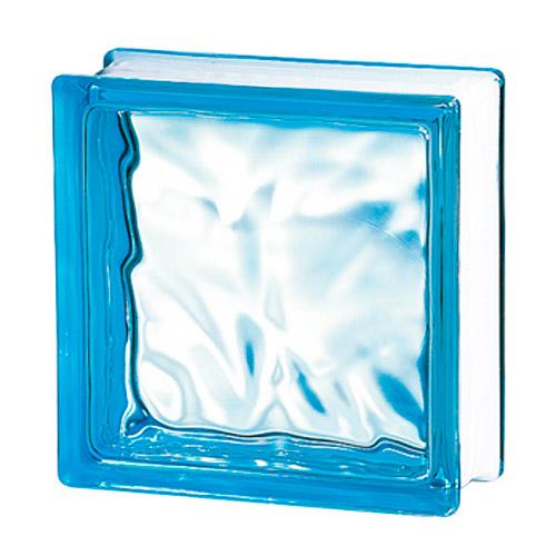 Pustaki szklane 198 Azur Flemish E60 EI15 luksfery 19x19x8