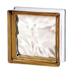 Pustaki szklane 198 Bronze Flemish E60 EI15 luksfery 19x19x8