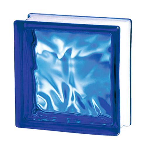Pustaki szklane 198 Cobalt Flemish Sat1 E60 EI15 luksfery 19x19x8
