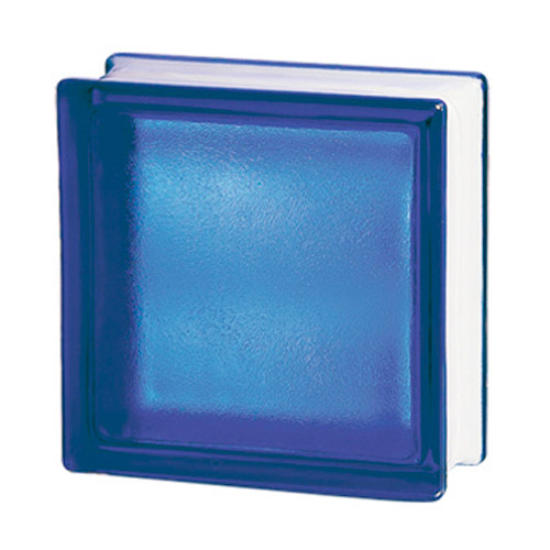 Pustaki szklane 198 Cobalt Frosted Sat1 E60 EI15 luksfery 19x19x8