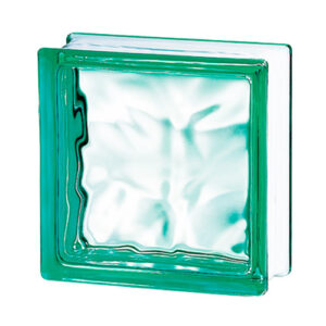 Pustaki szklane 198 Green Flemish E60 EI15 luksfery 19x19x8
