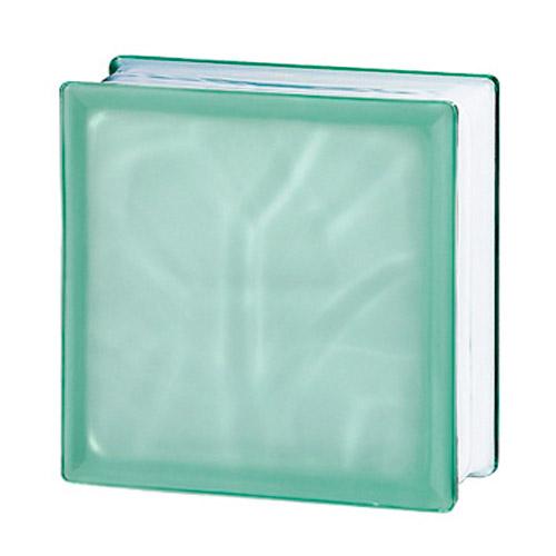Pustaki szklane 198 Green Flemish Sat1 E60 EI15 luksfery 19x19x8