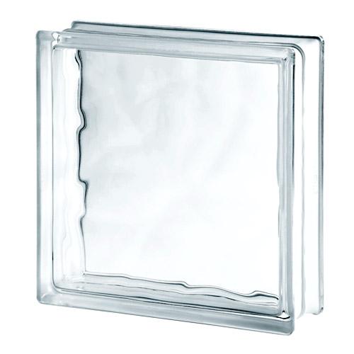 Pustaki szklane Wave 3030/10 Luksfery przeźroczyste chmurki