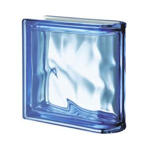 Pustaki szklane Ter Lineare Blue O Met 1919/8 Luksfery zakończeniowe niebieskie