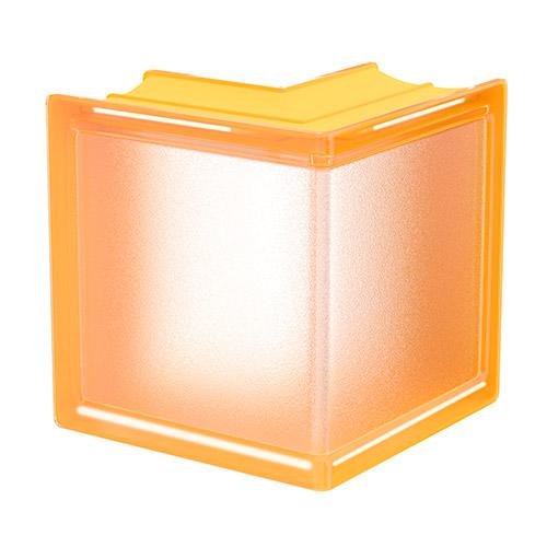 Pustaki szklane MyMiniGlass Apricot Corner luksfery 14,6x14,6x8