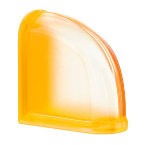 Pustaki szklane MyMiniGlass Apricot Curved End luksfery 14,6x14,6x8