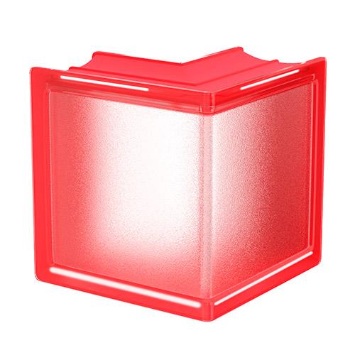 Pustaki szklane MyMiniGlass Cherry Corner luksfery 14,6x14,6x8