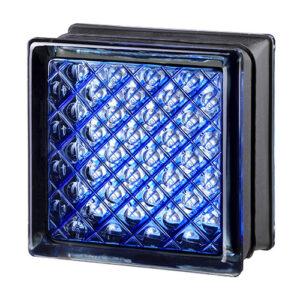 Pustaki szklane MyMiniGlass Daredevil Blue luksfery 14,6x14,6x8