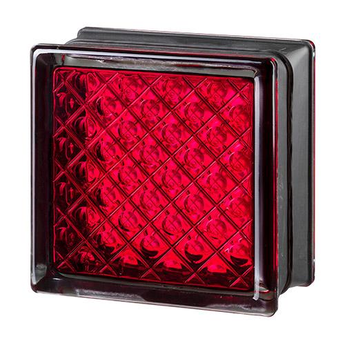 Pustaki szklane MyMiniGlass Daredevil Red luksfery 14,6x14,6x8