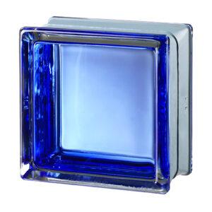 Pustaki szklane MyMiniGlass Futuristic Blue luksfery 14,6x14,6x8