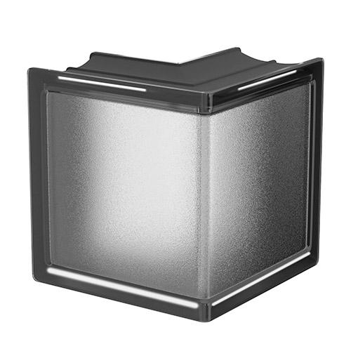 Pustaki szklane MyMiniGlass Liquorice Corner luksfery 14,6x14,6x8