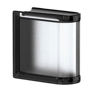 Pustaki szklane MyMiniGlass Liquorice Linear End luksfery 14,6x14,6x8