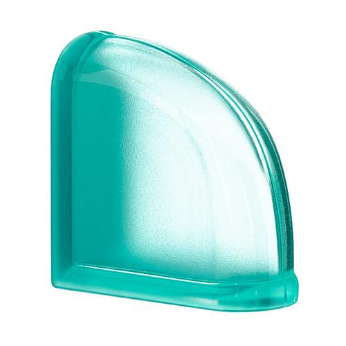 Pustaki szklane MyMiniGlass Mint Curved End luksfery 14,6x14,6x8