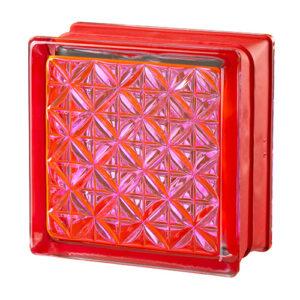 Pustaki szklane MyMiniGlass Romantic Pink luksfery 14,6x14,6x8