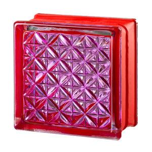 Pustaki szklane MyMiniGlass Romantic Ruby luksfery 14,6x14,6x8