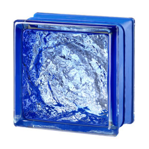 Pustaki szklane MyMiniGlass Sophisticated Blue luksfery 14,6x14,6x8