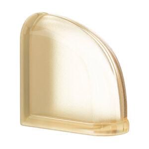 Pustaki szklane MyMiniGlass Vanilla Curved End luksfery 14,6x14,6x8