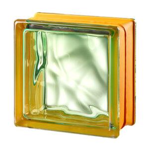 Pustaki szklane MyMiniGlass Vegan Green luksfery 14,6x14,6x8