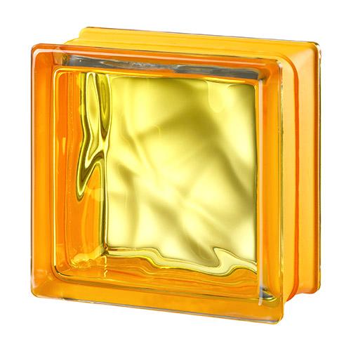 Pustaki szklane MyMiniGlass Vegan Yellow luksfery 14,6x14,6x8