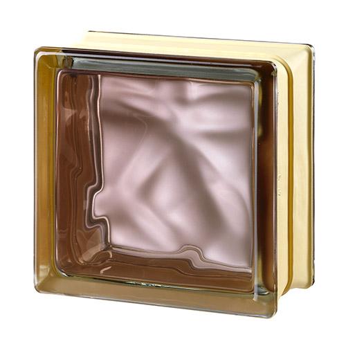 Pustaki szklane MyMiniGlass Very Natural Bronze luksfery 14,6x14,6x8