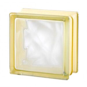 Pustaki szklane MyMiniGlass Very Natural White 30% luksfery 14,6x14,6x8