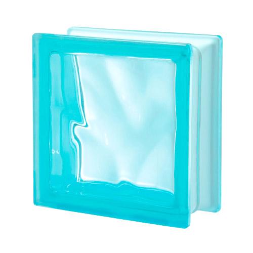 Pustaki szklane Q 19 Aquamarina O 1919/8 Luksfery niebieskie