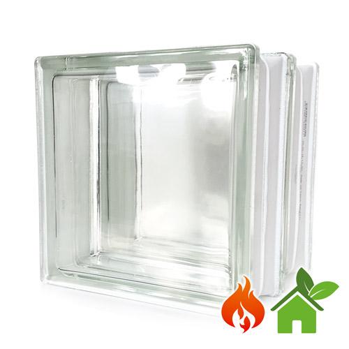 Pustaki szklane energooszczędne Clearview luksfery 19x19x16
