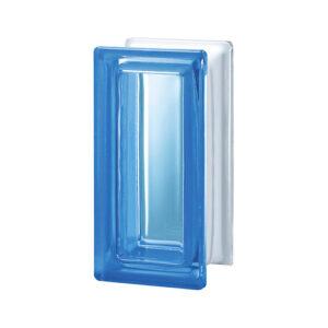 Pustaki szklane R09 Blue T 1909/8 Luksfery niebieskie połówki