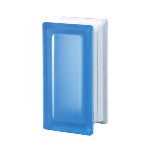 Pustaki szklane R09 Blue T Sat 1909/8 Luksfery niebieskie satynowane