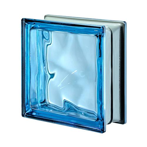 Pustaki szklane Q 19 Blue O Met 1919/8 Luksfery niebieskie metalizowane