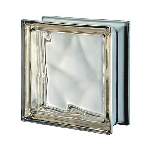 Pustaki szklane Q 19 Siena O Met 1919/8 Luksfery brązowe metalizowane