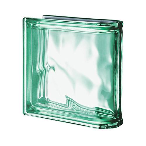 Pustaki szklane Ter Lineare Verde O Met 1919/8 Luksfery zakończeniowe zielone